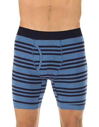 Tommy Hilfiger Men's 2-Pack Cobalt Knit Boxer Brief, Cobalt, Medium