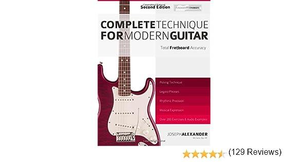 Complete Technique for Modern Guitar: Second Edition: Amazon.es ...