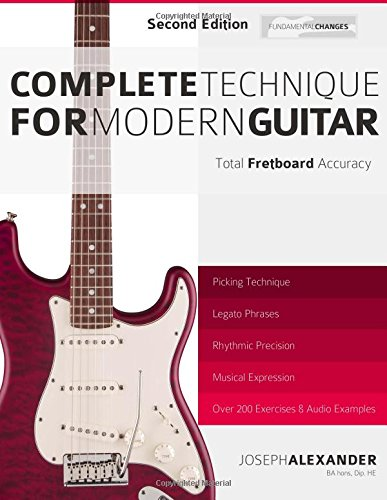 Complete Technique for Modern Guitar: Second Edition: Amazon.es ...