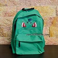 Bulbasaur, zaino verde ricamato, Pokemon Pokémon