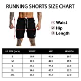 "Wangdo Men's Workout Shorts 7"" Running Shorts"