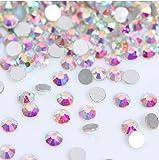2880 Pieces Nail Crystals AB Nail Art Rhinestones