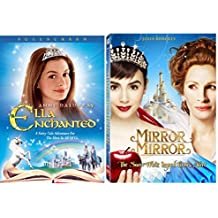 Mirror Mirror & Ella Enchanted Princess movie DVD Disney Set (2-Pack) movies