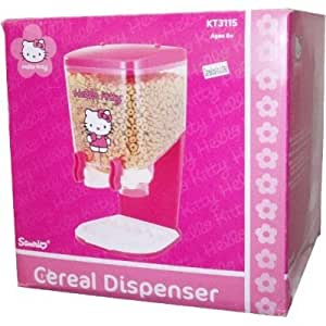 Hello Kitty Cereal Dispenser - Pink
