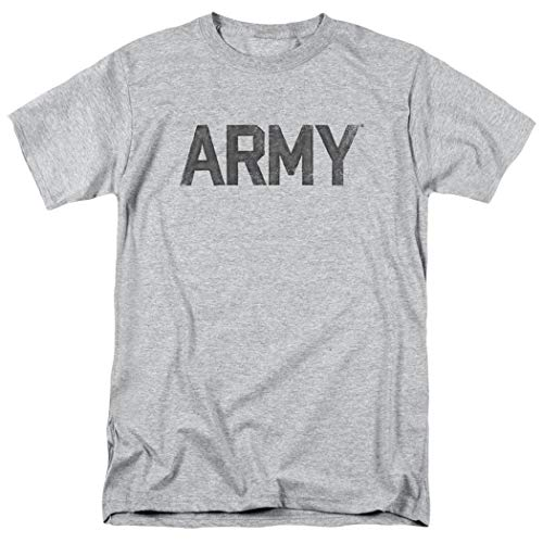 U.S. Army Logo Faded Vintage T Shirt & Exclusive Stickers (XXX-Large) ()