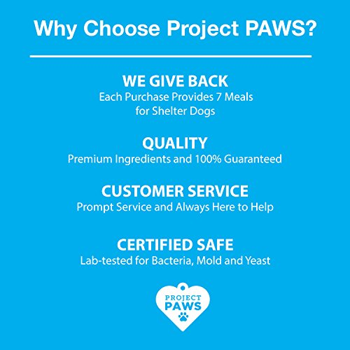 Project Paws Dental Sticks for Dogs - Triple Enzyme Dental Care Chews - Grain Free - 10 Count Large by Project Paws (Image #4)