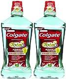 Colgate Total Advanced Pro-Shield Mouthwash, Spearmint Surge - 33.8 oz - 2 pk
