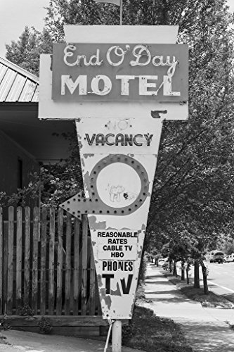 24 X 36 B W Giclee Print Of In 2007  The Owner Of The Old End Oday Motel  An Affordable Housing Option  To Say The Least  For Durango  Colorado  Low Income Residents And Visitors  2015 Highsmith 93A