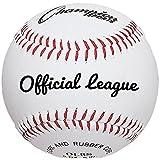 Champion Sports Set de béisbol de piel: docena de interior/al aire última intervensión piel auténtica oficial Liga de pelotas para práctica entrenamiento o de juego real–Paquete de 12
