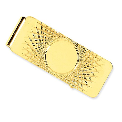 14k Money Clip by CoutureJewelers