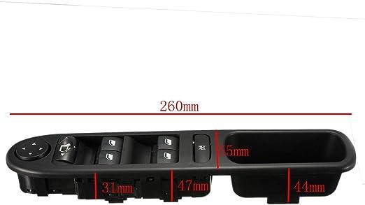 Audew Elektrische Fensterheberschalter Schalter 9 Pin Fenster Schalter Auto