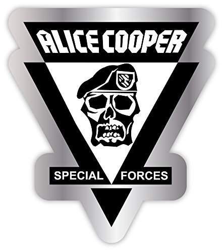 ALICE COOPER special forces music band punk rock sticker decal 4