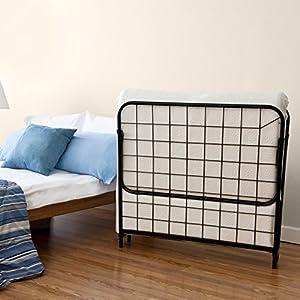 Zinus Traveler Premier Folding Twin Guest Bed, Plus Bonus Storage Bag