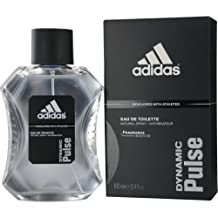 Adidas Dynamic Pulse  By Adidas For Men, Eau De Toilette Spray, 3.4-Ounce Bottle