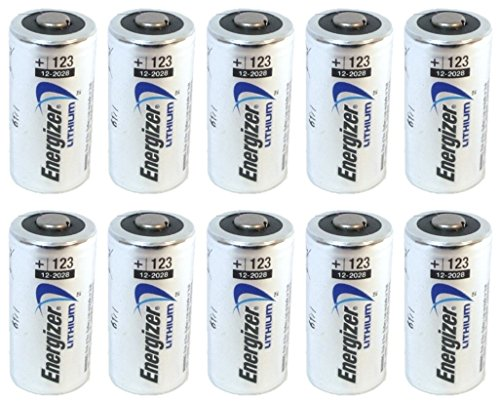 Energizer Lithium CR123A Photo Batteries