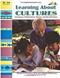 img - for Learning About Cultures: Literature, Celebrations, Games and Art Activities (Reproducible Book) book / textbook / text book
