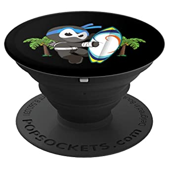 Surf Ninja, Ninjutsu Surfing - PopSockets Grip and Stand for Phones and Tablets