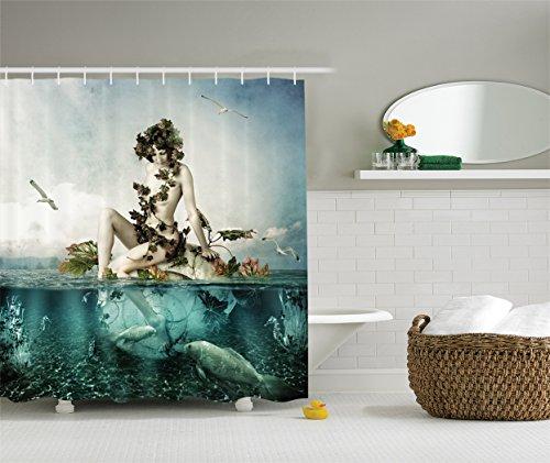 Mermaid Bathroom Decor: Amazon.com