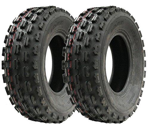 Par de neumáticos Slasher Quad, 21x7-10 Wanda Raza neumático E Marcado neumáticos 21 7 10: Amazon.es: Jardín