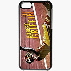 Personalized iPhone 5C Cell phone Case/Cover Skin 14398 robert griffin 3copy Black