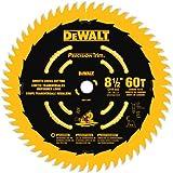 DEWALT DW7118PT 8-1/2-Inch 60 Tooth Precision Trim Fine Crosscutting Saw Blade with 5/8-Inch Arbor