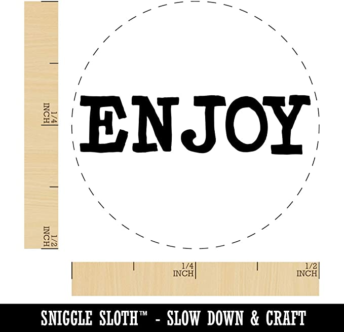 Home Made Fun Text Rubber Stamp for Stamping Crafting Planners