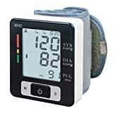 KEDSUM Wrist Digital Blood Pressure Monitor with 90 Memory Capacity ,Two User Modes ,FDA Certified-Black