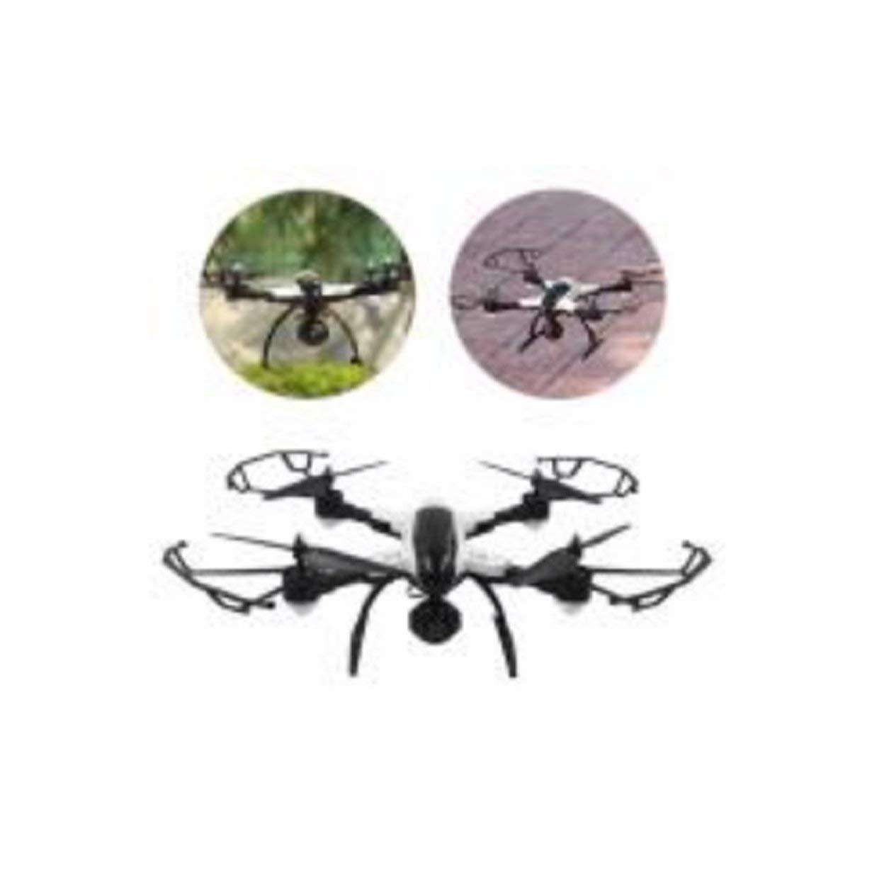 Dailyinshop X33C-1 Selfie FPV Faltbare RC Drone Höhe Halten 0.3MP WiFi Kamera 3D Flips (Farbe: Schwarz-Weiß)