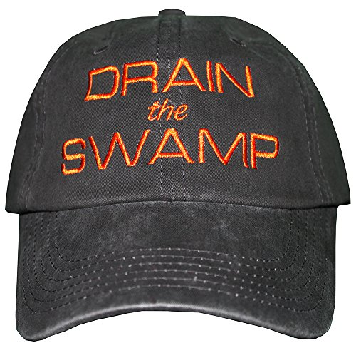 DRAIN-THE-SWAMP-Embroidered-Hat-TRUMP-Cap-MAGA-Bad-Hombre-DrainTheSwamp