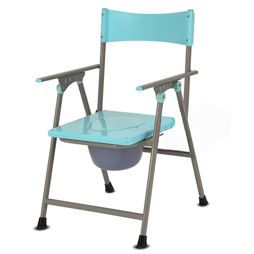 LXN 青) 椅子バスチェア便座折り畳み式妊婦老人トイレチェア頑丈な防水炭素鋼 LXN (色 : 青) B07DK3Z6Z3 青 B07DK3Z6Z3, ナガワマチ:337f6334 --- ijpba.info