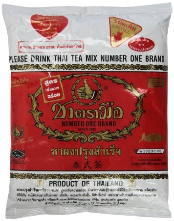 1 X The Original Thai Iced Tea Mix ~ Number One Brand Imported From Thailand! 400g Bag Great for Restaurants That Want to Serve Authentic and High Quality Thai Iced Teas. by MCtraddy