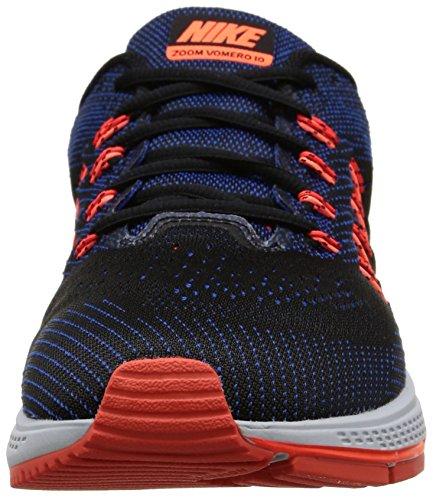 Nike Air Zoom Vomero 10 - Zapatillas de running Hombre Negro / Blanco / Rojo (Game Royal / Wht-Hypr Orng-Blck)