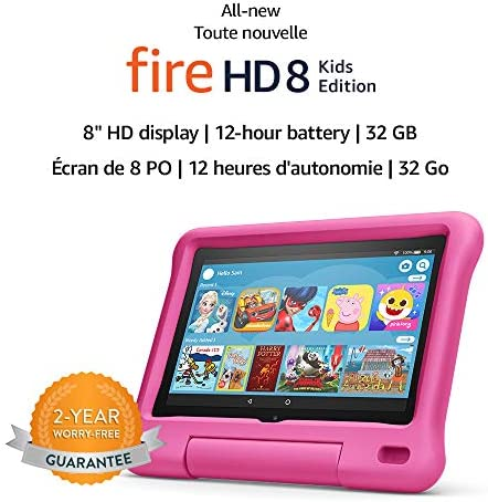 Amazon Fire HD 8 Kids Edition tablet, 8