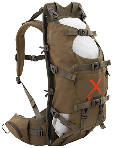ALPS OutdoorZ Extreme Commander X Frame Pack-Coyote Brown