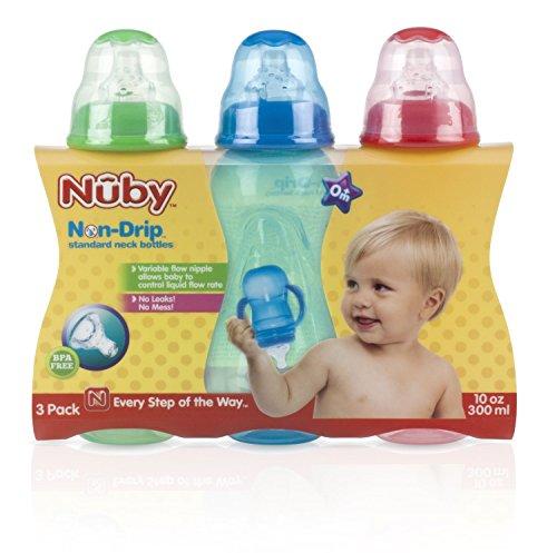 Nuby Bottles Ounce Light Green