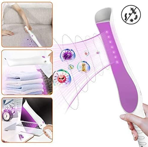 for Home Office Travel Portable Cleaning Lamp with USB Charging AACC Pack of Two Cleaning Wand