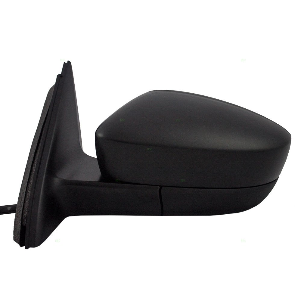 Drivers Manual Remote Side View Mirror Textured Replacement for Volkswagen Jetta /& Hybrid 5C78575079B9 AutoAndArt