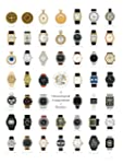 A Chronological Compendium of Watches Poster 18 X 24 By Pop Chart Lab