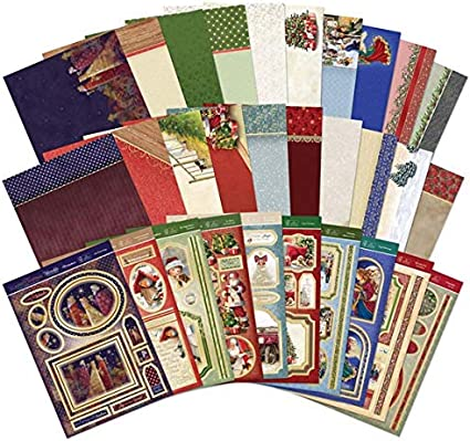 Hunkydory Christmas is Coming Topper Set Die Cut Christmas Classics