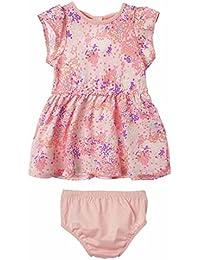 Baby Girl Newborn Cute Dress with Panty Set   Vestidos de Bebe Niña
