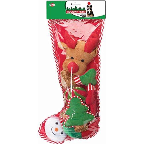 Holiday Dog Toy Stocking