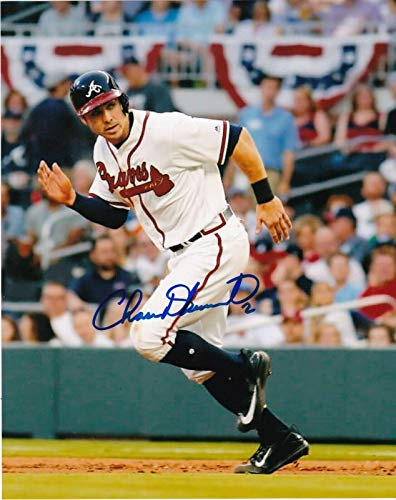 - CHASE D'ARNAUD ATLANTA BRAVES ACTION SIGNED 8x10 - Autographed MLB Photos