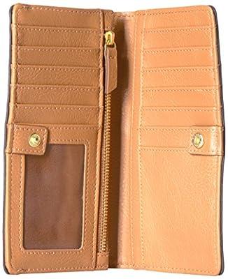 Fossil Caroline Rfid Slim Bifold Wallet Grey Multi Wallet