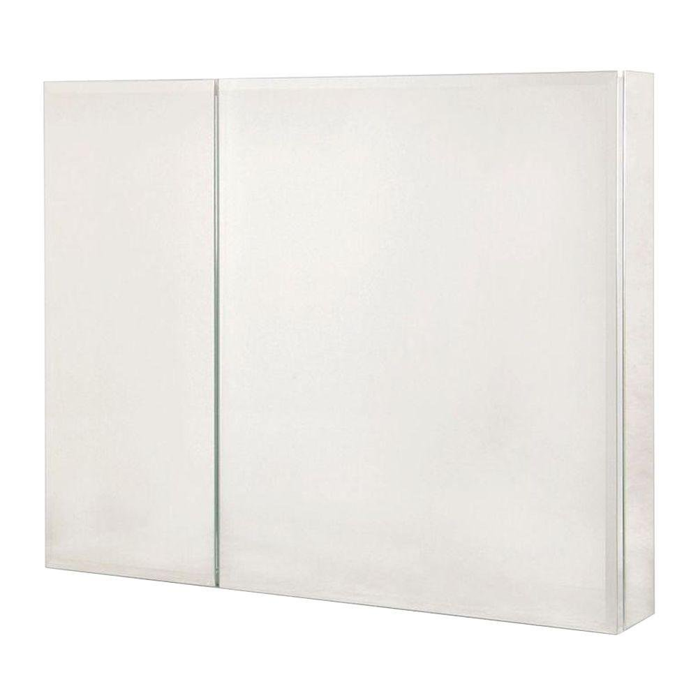 Amazon.com: Pegasus SP4584 26 Inch By 30 Inch Bi View Beveled Mirror  Medicine Cabinet, Clear: Home Improvement Part 34