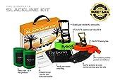 flybold Slackline Kit with Training Line Tree Protectors...