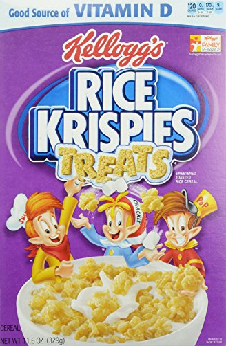 Kelloggs Krispies Treats Cereal Ounce product image