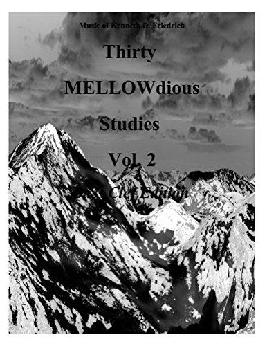 Thirty MELLOW-dious Studies, Vol. 2-Bass Clef