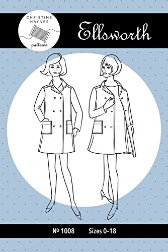 Christine Haynes Ladies Sewing Arrangement 1008 Ellsworth Coat