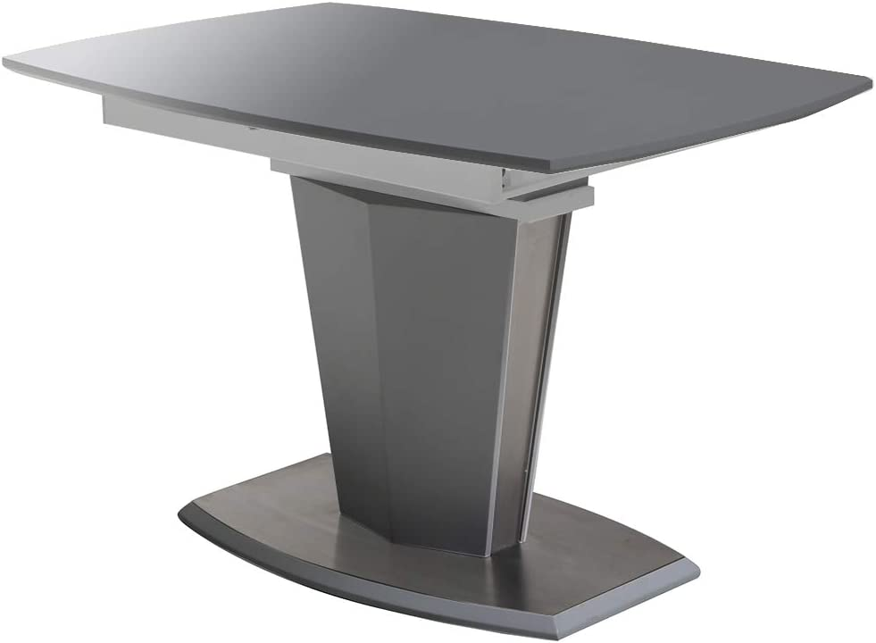 MorNon Pie Telesc/ópico 710-1100mm Patas De Mesa Ajustables En Altura Pie Nivelador Pata De Mesa De Metal Negro