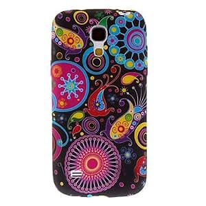 TOPAA Flower In Underwater World Pattern Hard Case for Samsung Galaxy S4 Mini I9190